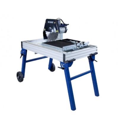 Carat fliseskærer med rullebord og kørehjul - 650 mm