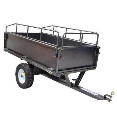 ATV trailer m/høje sider