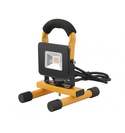 Nortec arbejdslampe 230 volt - 10 watt m/stativ