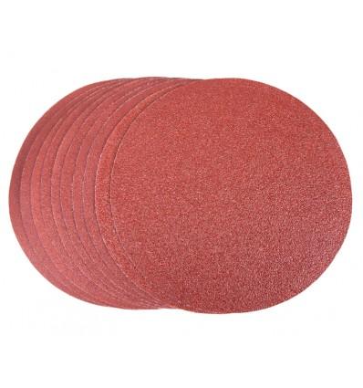 Sandpapirsrondeller velcro Ø150 mm til BGM1022