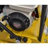 Pladevibrator 80 kg med Honda motor og gummiplade