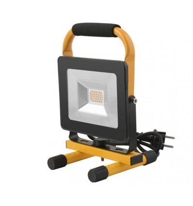 Nortec arbejdslampe 230 volt - 20 watt m/stativ