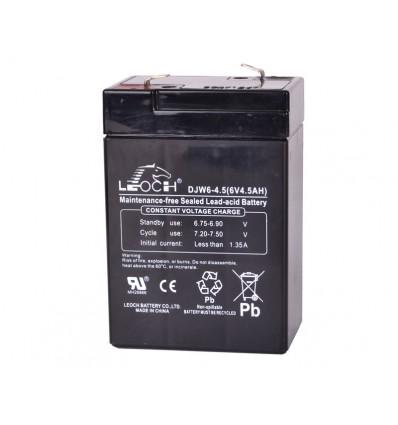 Løst batteri til kranvægt