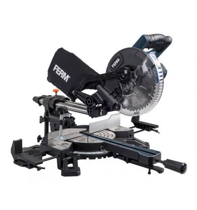FERM Afkorter 210 mm med udtræk og laser