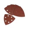 Sandpapir korn 80 til trekantsliber med Velcro®