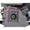 5,5 hk benzinmotor 20 mm aksel