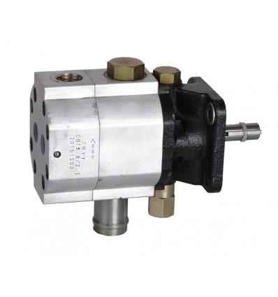 6,5 hk motor med hydraulikpumpe