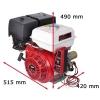 13 hk benzinmotor 25 mm aksel elstart