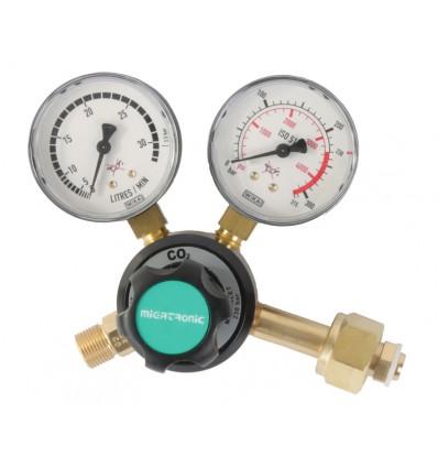 Migatronic Manometer CO2 til 6 kg flaske - økonimimodel