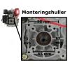 Dieselmotor 10 hk m/elstart
