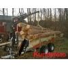 Skovvogn 1500 kg med kran