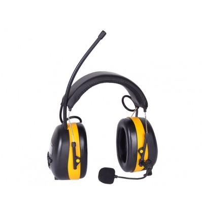 Høreværn Bluetooth / DAB+ / udvendig mikrofon