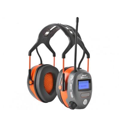Høreværn med Bluetooth og USB