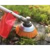 Flise børste til græstrimmer / buskrydder