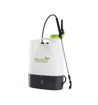 Rygsprøjte med batteri - 18 liter tank