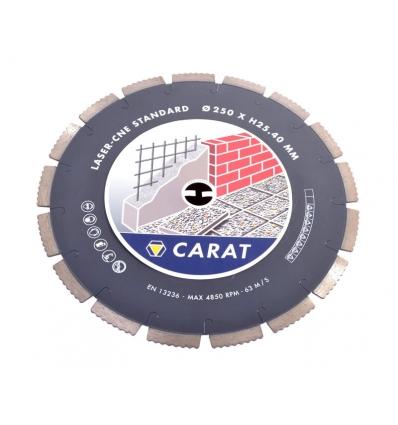 """250 mm diamantklinge """"åben"""" - 25,4 hul"""