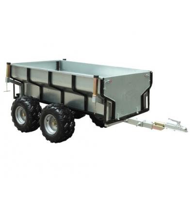 Skovvogn med 1,2 m³ kasse