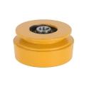 Slyngkobling t/enkelt kilerem 15 mm hul - diameter 100 mm