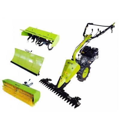 Havemaskine med 4 værktøjer