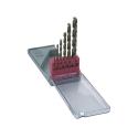 Metalbor sæt med 6 stk. 2-8 mm