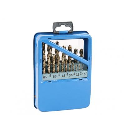 Cobolt bor / metalbor sæt med 19 stk 1-10 mm