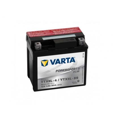 Batteri 12 volt 4 Ah - Varta