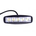 Arbejdslampe LED 15 watt smal - spot