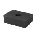 Luftfilter - skumgummi - til 5,5 og 6,5 hk
