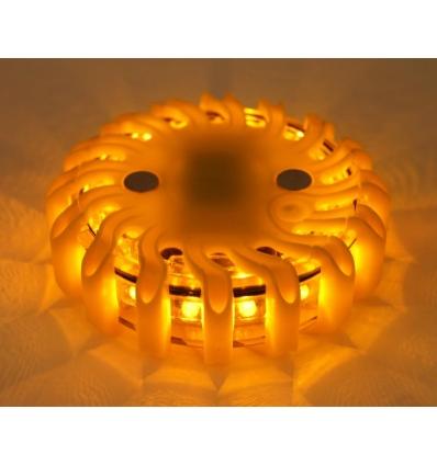 "Enkelt ""skildpadde"" - reserve - orange lys"
