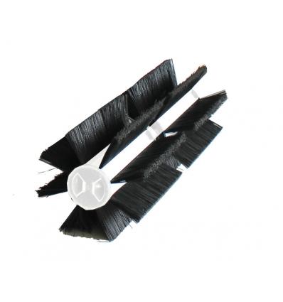 Mini børster - 16 løse børster til mini fejekost