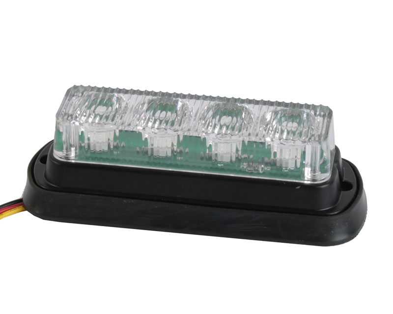 LED advarselsblink til indbygning 4 x 1 watt
