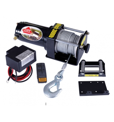Trækspil 12 volt 1350 kg trådløs fjernbetjening