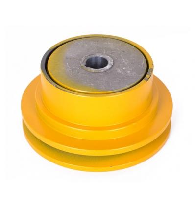 Slyngkobling t/enkelt kilerem 20 mm aksel - diameter 143 mm