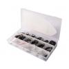 Låseringe sortiment - 300 dele - tommemål
