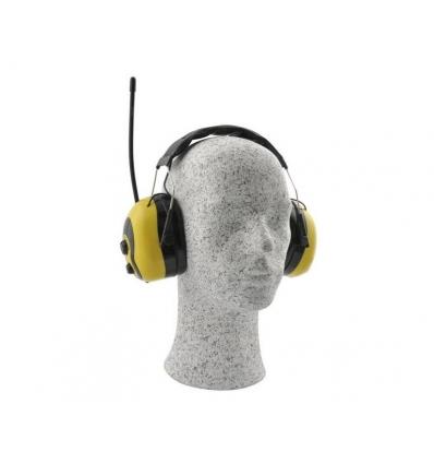Høreværn med FM radio