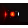 Slingrelygte kort LED 12-24 volt - 2 stk.