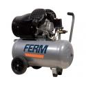 Ferm Kompressor 50 liter 230 volt med dobbelt cylinder
