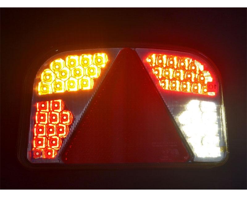 Opdateret Baglygte 56 LED - venstre TL46