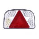 Baglygte 56 LED - højre