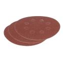 Sandpapir ø125 mm korn 80 til excenterslibere