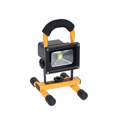 Arbejdslampe og Advarselsblink med batteri