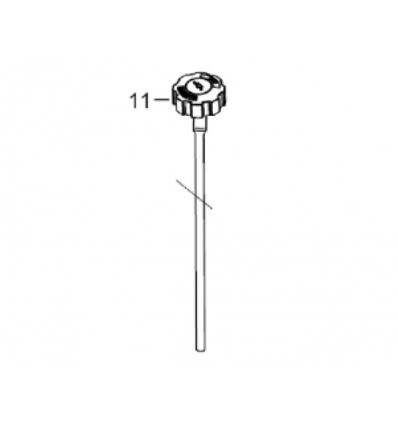 Oliepind/måler til 13 hk Rato motor