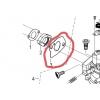 Pakning til karburator til 13 hk Rato motor