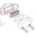 Luftfilter bund m/rør til 13 hk Rato motorer