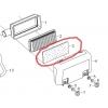 Luftfilter fladt til 13 hk Rato motorer