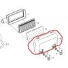 Luftfilter yderste skjold til Rato 13 hk motor
