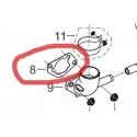 Pakning luftfilter på 13 hk Rato motor.