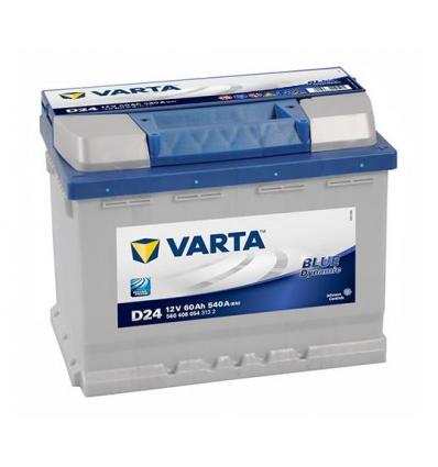 Batteri 12 volt 60 Ah - VARTA