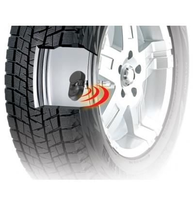 Trådløs dæktryksmåler med 4 ventiler