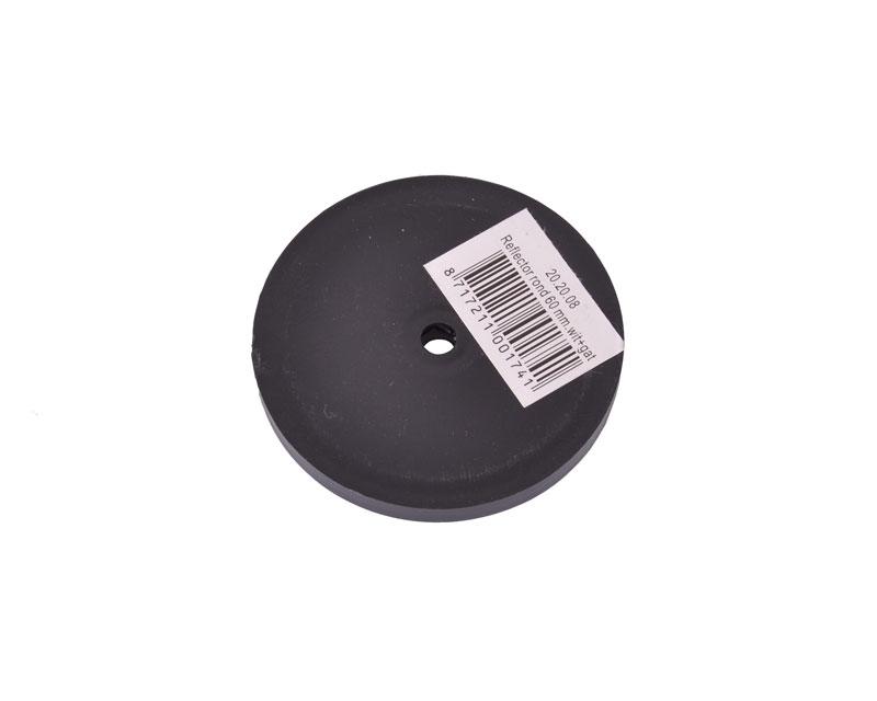 hvid refleks rund 60 mm. Black Bedroom Furniture Sets. Home Design Ideas